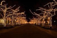 Подключение освещения зданий в Северодвинске